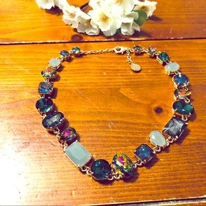 "18"" Necklace with Stunning jewel varieties"